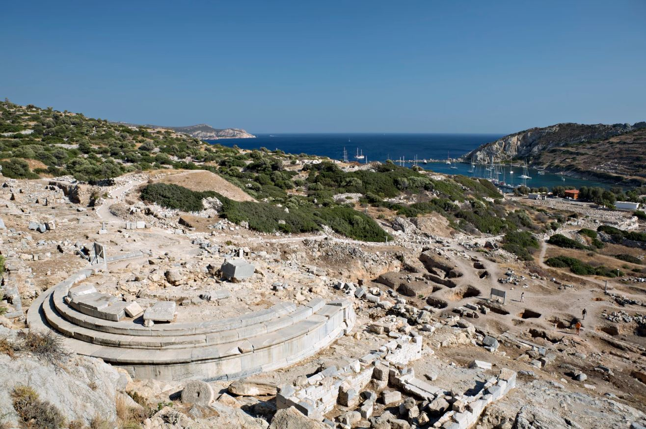 Knidos - ancient roman city